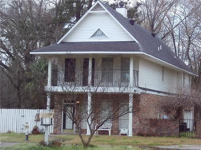 Benton Single Family Home For Sale: 1350 Palmetto Road