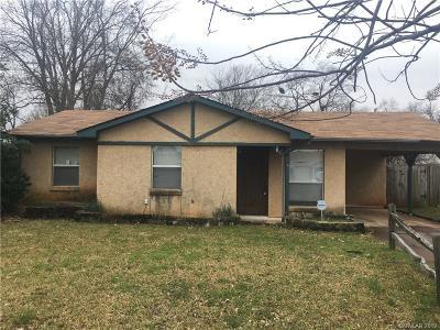 Bossier City Single Family Home For Sale: 4412 Deidra