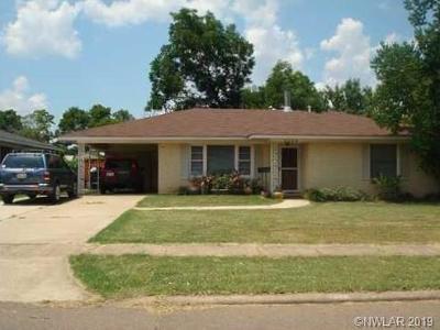 Bossier City Single Family Home For Sale: 3249 McGregor Street