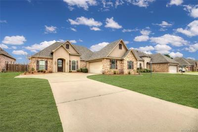 Haughton Single Family Home For Sale: 329 Wood Springs