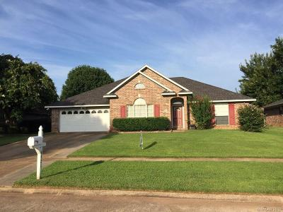 Bossier City Single Family Home For Sale: 4921 General Sterling Price Place