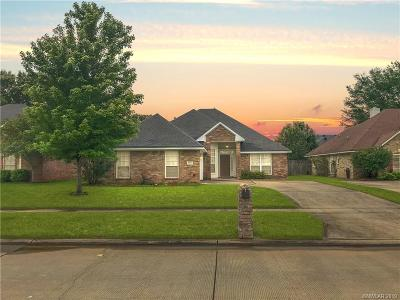 Bossier City Single Family Home For Sale: 6021 Whitney Drive