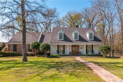 Shreveport Single Family Home For Sale: 11315 Heritage Oaks Circle