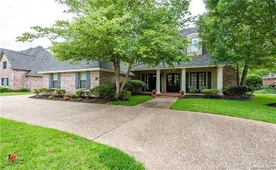 Bossier City Single Family Home For Sale: 110 Stonebridge Boulevard