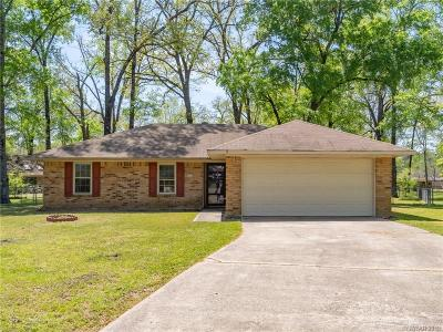 Haughton Single Family Home For Sale: 3403 Woodvine Circle
