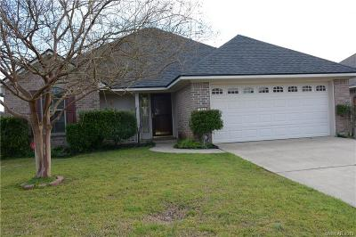 Bossier City Single Family Home For Sale: 1614 Winchester Drive