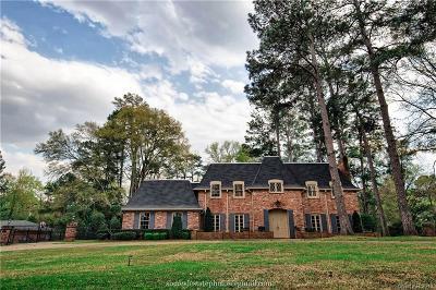 Shreveport LA Single Family Home For Sale: $675,000