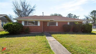 Bossier City Single Family Home For Sale: 2200 Wakefield Avenue