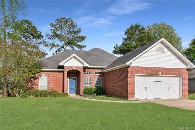 Haughton Single Family Home For Sale: 110 Foxchase Drive