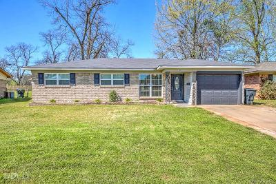 Bossier City Single Family Home For Sale: 1807 Lake Street
