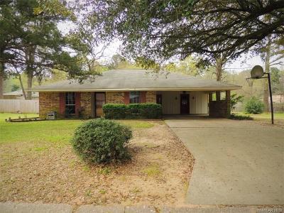 Haughton LA Single Family Home For Sale: $189,000