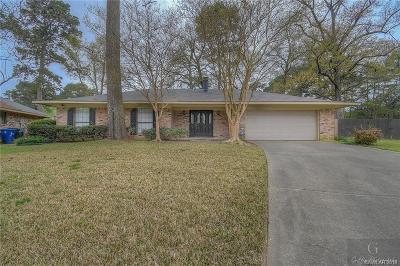 Shreveport LA Single Family Home For Sale: $157,900