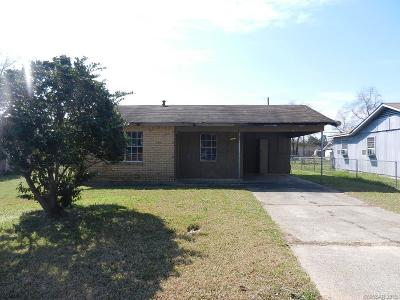 Single Family Home For Sale: 3013 Terry Street