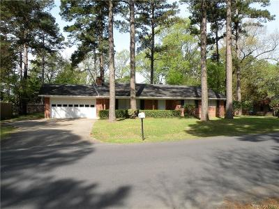 Haughton Single Family Home For Sale: 102 Pine Lake Drive