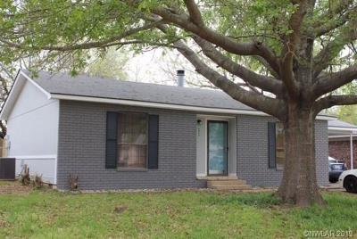 Bossier City Single Family Home For Sale: 4814 General Bragg Drive