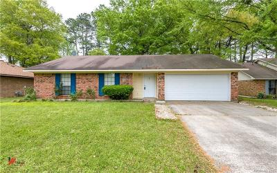 Haughton Single Family Home For Sale: 2644 Southcrest Drive