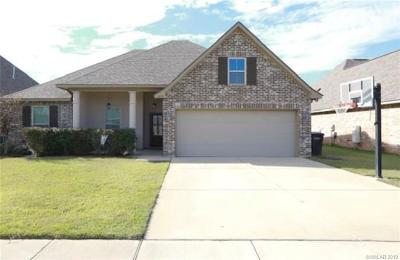 Bossier City Single Family Home For Sale: 439 Remington Drive
