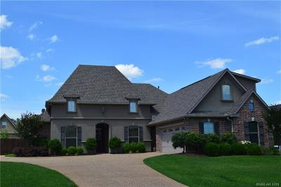 Haughton Single Family Home Active Under Contract: 1805 Coldwater Creek
