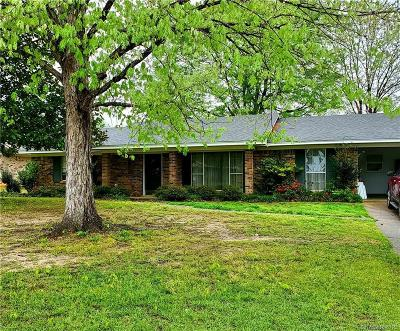 Minden Single Family Home For Sale: 1509 Hickory Drive