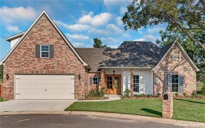 Shreveport Single Family Home For Sale: 8903 Beau Chasse Drive