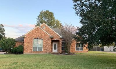 Bossier City Single Family Home For Sale: 5522 Lake Side Drive