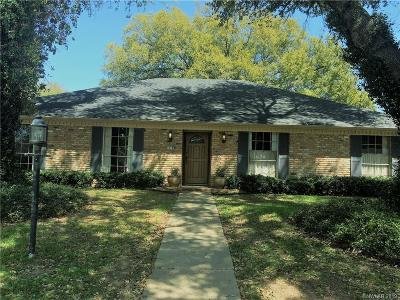 University Terrace, University Terrace South Single Family Home For Sale: 1518 Aquilla Drive