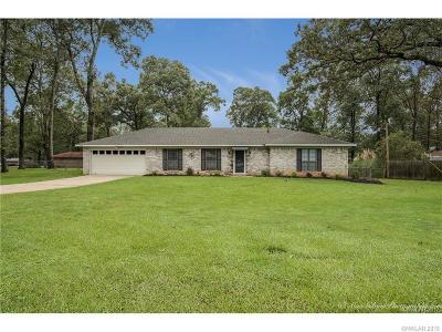 Haughton Single Family Home For Sale: 9109 Dogwood Trail