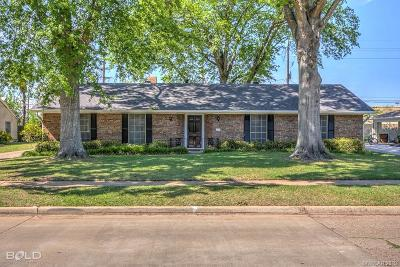 Shreveport Single Family Home For Sale: 806 Captain Shreve Drive