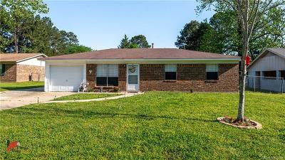Keithville Single Family Home For Sale: 6416 Graham Circle