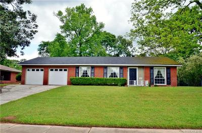 Shreveport Single Family Home For Sale: 3038 Hayes Drive