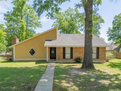 Haughton Single Family Home For Sale: 3136 Halls Trail