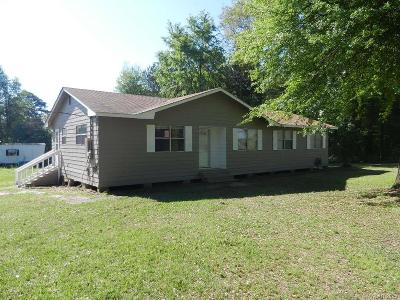 Single Family Home For Sale: 877 White Springs Road