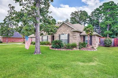 Haughton Single Family Home For Sale: 1805 Sparrow Ridge