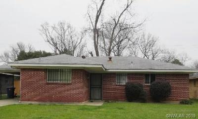 Shreveport Single Family Home For Sale: 5907 W Canal Boulevard