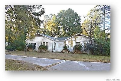 Shreveport Single Family Home For Sale: 811 Crescent Road