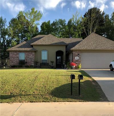 Shreveport Single Family Home For Sale: 6909 Emerald Bay