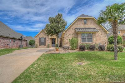 Bossier City Single Family Home For Sale: 796 Hackberry Drive