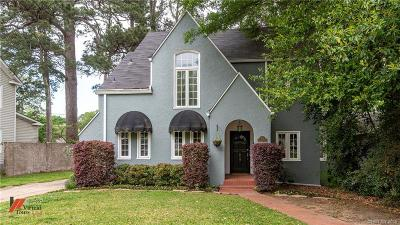 Shreveport Single Family Home For Sale: 614 Linden Street