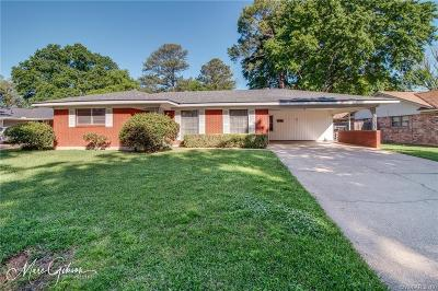 Shreveport Single Family Home For Sale: 6006 Annette Street