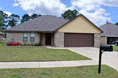 Haughton Single Family Home For Sale: 525 Big Red Circle