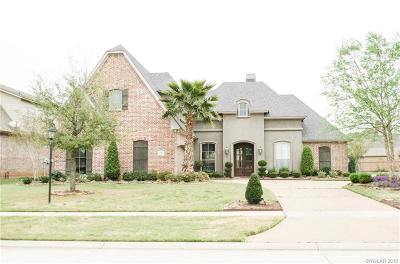 Shreveport Single Family Home For Sale: 850 Chartres Drive