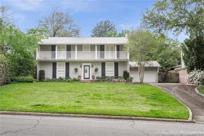 Shreveport LA Single Family Home For Sale: $369,900