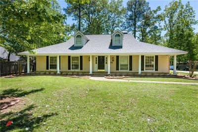 Benton Single Family Home For Sale: 4016 Woodway Drive