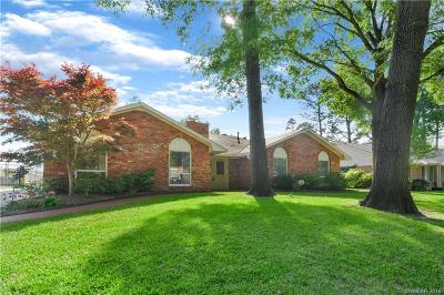 Shreveport Single Family Home For Sale: 8602 W Wilderness Way