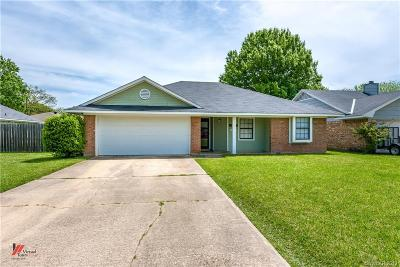 Bossier City Single Family Home For Sale: 2520 Downs Street