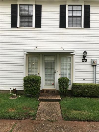 Shreveport Condo/Townhouse For Sale: 1401 Oden Street #18