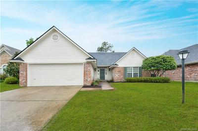 Shreveport Single Family Home For Sale: 10528 Plum Creek Drive