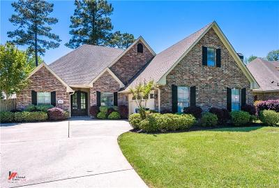 Haughton Single Family Home For Sale: 802 Grey Fox
