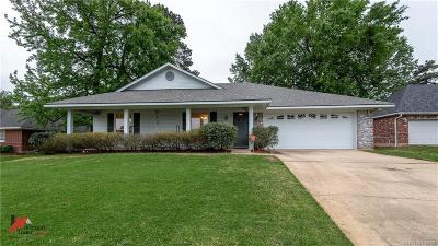 Shreveport Single Family Home For Sale: 3715 Crestview Drive