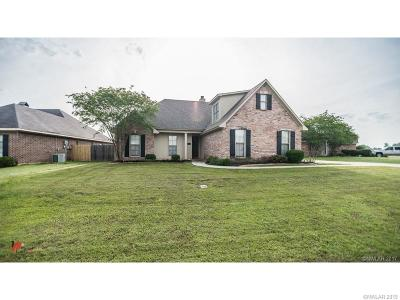 Benton Single Family Home For Sale: 4229 Parkridge Drive